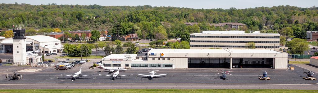 Air Bound Aviation: plenty of ramp space